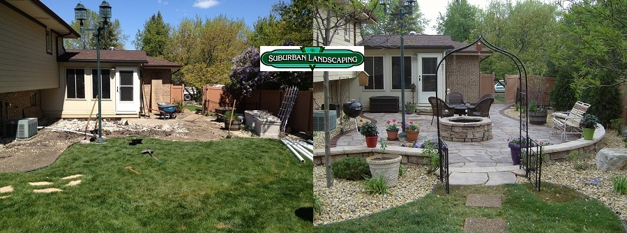 Landscape Renovation Before And After