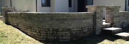 Retaining Walls With Columns