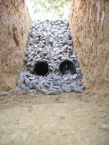 french drain 1